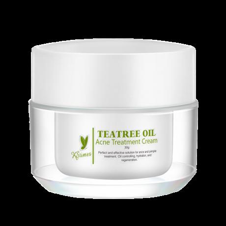 KSTimes Tea Tree Oil 3 Days Acne Pimples Removal Face Cream